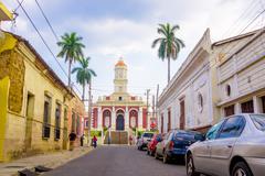 Santa Ana in El Salvador Stock Photos