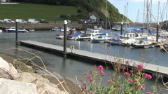 Axmouth Harbour Stock Footage