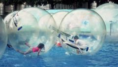 Magic Balls Water Park - 60fps Stock Footage