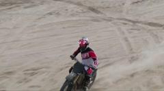 Mx giant sand berm Stock Footage