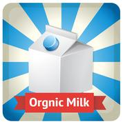 Dairy product - stock illustration