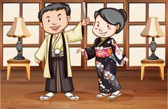 Japanese Stock Illustration