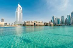 Dubai - JANUARY 10, 2015: The Address Hotel on January 10 in UAE, Dubai. Address Stock Photos