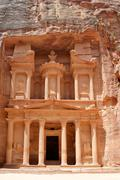Treasury of Petra - stock photo