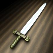 Ancient sword - stock illustration