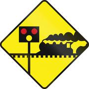 Level Crossing With Signals Piirros
