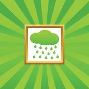 Rain picture icon Piirros