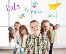 Smiling kids Stock Photos