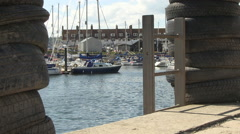 Axmouth Harbour Seaton Devon Stock Footage