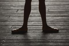 Ballerina dancing feet Kuvituskuvat