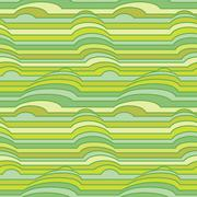 Vector seamless pattern of colorful stripes - stock illustration