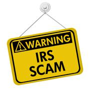 IRS Scam Warning Sign Piirros