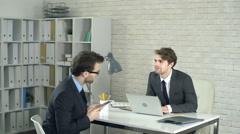 Successful Negotiation Stock Footage