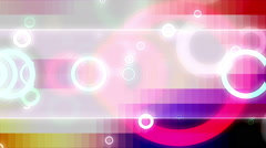Modern Retro Looping Backdrop Stock Footage
