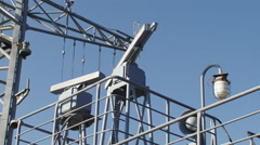 Radar warship Stock Footage