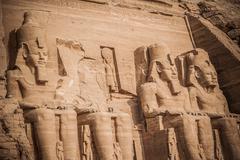 Pharaoh statue Stock Photos