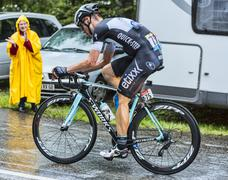 The Cyclist Tony Martin - Tour de France 2014 - stock photo