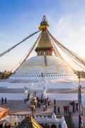 Stock Photo of Buddhist stupa - Buddhist place of worship