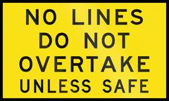 No Lines In Australia - stock illustration