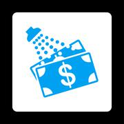 Money Laundry Icon from Commerce Buttons OverColor Set Stock Illustration