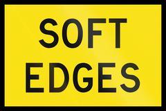Soft Edges In Australia Stock Illustration