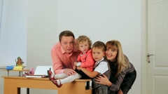 Family Business Stock Footage