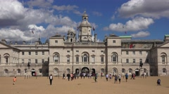 Horse Guards Parade (in 4K), London, UK. Stock Footage