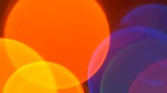 Led lighthing abstract bokeh Stock Footage
