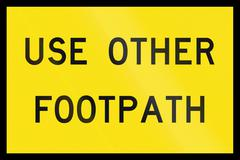 Use Other Footpath In Australia Stock Illustration