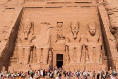 Pharaoh statue - stock photo