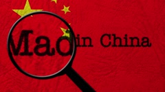 Made in China Stock Footage