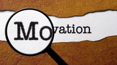 Search for motivation Stock Footage