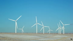 Multiple Windmils Stock Footage