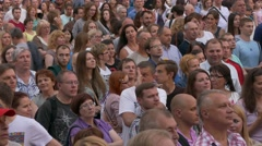 Ungraded: Crowd at Concert - stock footage