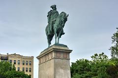 Continental Army Plaza, New York - stock photo