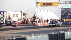 Launch sportscar Stock Footage