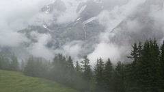 Stock Video Footage of Alpine landscape
