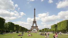 The Eiffel Tower - stock footage