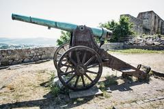 Rusty historic cannon, Trencin Kuvituskuvat