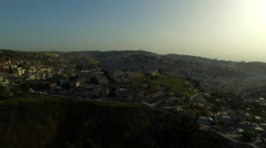 4K Aerial of Cityscape of Jerusalem Stock Footage