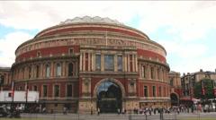 Royal Albert Hall, London, England, UK Stock Footage