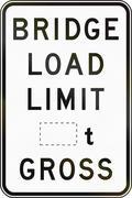 Gross Bridge Load Limit In Australia Stock Illustration