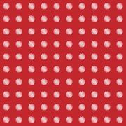 Abstract polka dots seamless wallpaper pattern - stock illustration