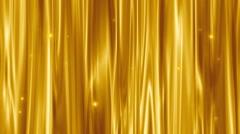 Smooth Gold Particles Background Loop - stock footage