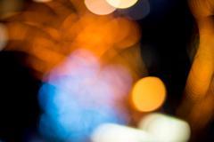 Stock Photo of Abstract lighting bokeh background