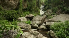 Huay Kaew waterfalls in Chiang Mai, Thailand Stock Footage