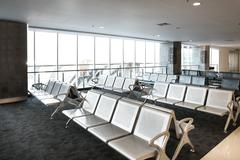 Stock Photo of airport lounge