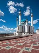 Kul-Sharif mosque in Kazan, Tatarstan, Russia Stock Photos