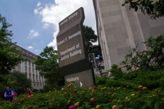 Department of Justice Time Lapse Stock Footage
