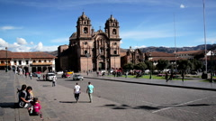 Stock Video Footage of Activity in Cuzco, Peru